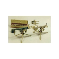 Vickers machine gun (2 pieces)