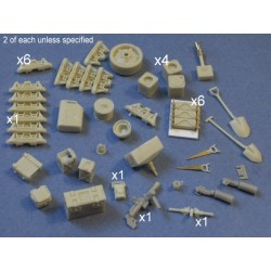 UK Sherman accessories n 1