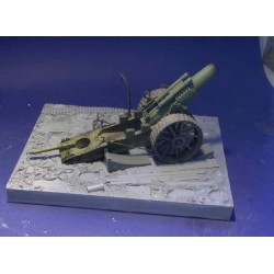 8inch WWI Mud Diorama (gun NOT included)