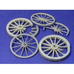 Broken WWI wheels (6inch and GS wagon)