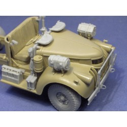 Cab detail set for Tamiya 30CWT LRDG