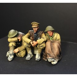 """So Cold"" 3 figure WWI vignette"