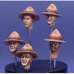 Various heads with  Lemon squeezer