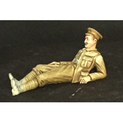 355667 Resting Soldier WWI