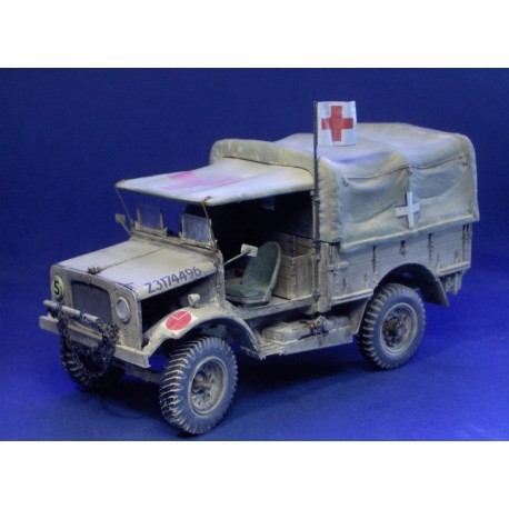 "Bedford MW ""Early"" Afrika Korps Medical"