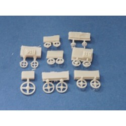 354401 Various hand wheels (32 different parts)