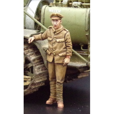 357003 WWI soldier leaning