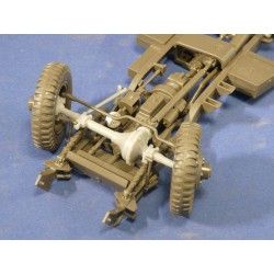 352424 Positionable Steering for Tamiya Scout Car M3A1
