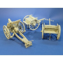351293 4,5inch Howitzer, Limber and Wagon