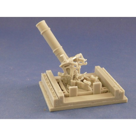 351298 WWI 240mm Trench Mortar