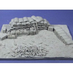 18pdr WWI diorama