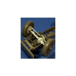 Workable  front steering for GMC
