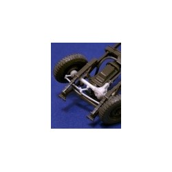 Workable  front steering for Jeep
