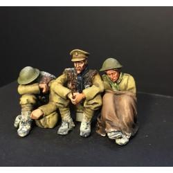 """""""So Cold"""" 3 figure WWI vignette"""
