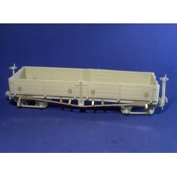 D type wagon narrow gauge railway