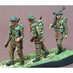 Bren gun team  marching order