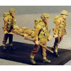 Airborne stretcher set
