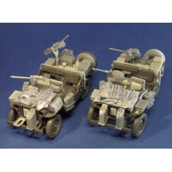 "Popski's Private Army Jeep Conversion "" Italy"""