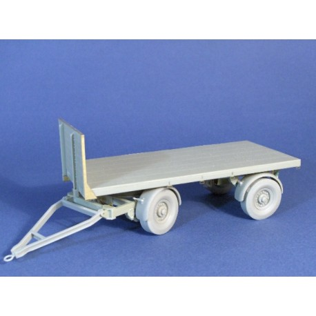 4.5ton articulated trailer