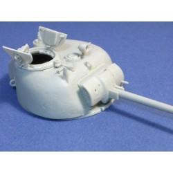 Sherman turret extra side cast armor
