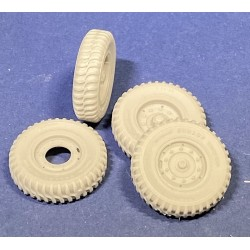 352444 Dunlop Wheels for Leyland Retriever (ICM)