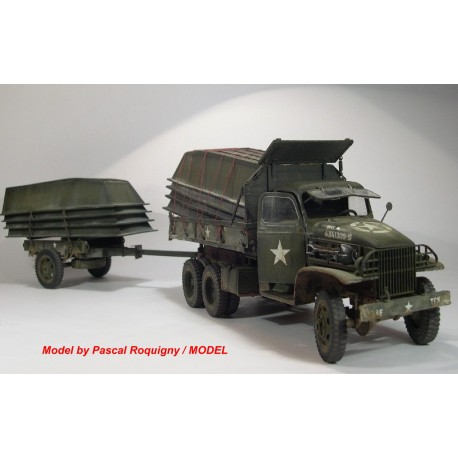 351195 GMC tipper, Utility trailer & extra boat load