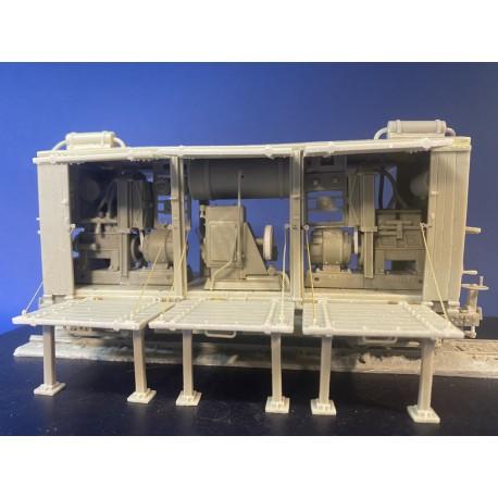 351301 WDLR wagon générateur et compresseur